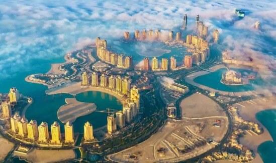 Katar Doha Manzarası