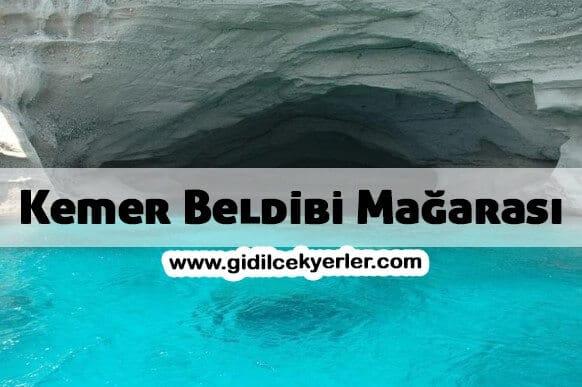 Kemer Beldibi Mağarası