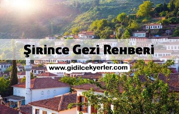 Şirince Gezi Rehberi